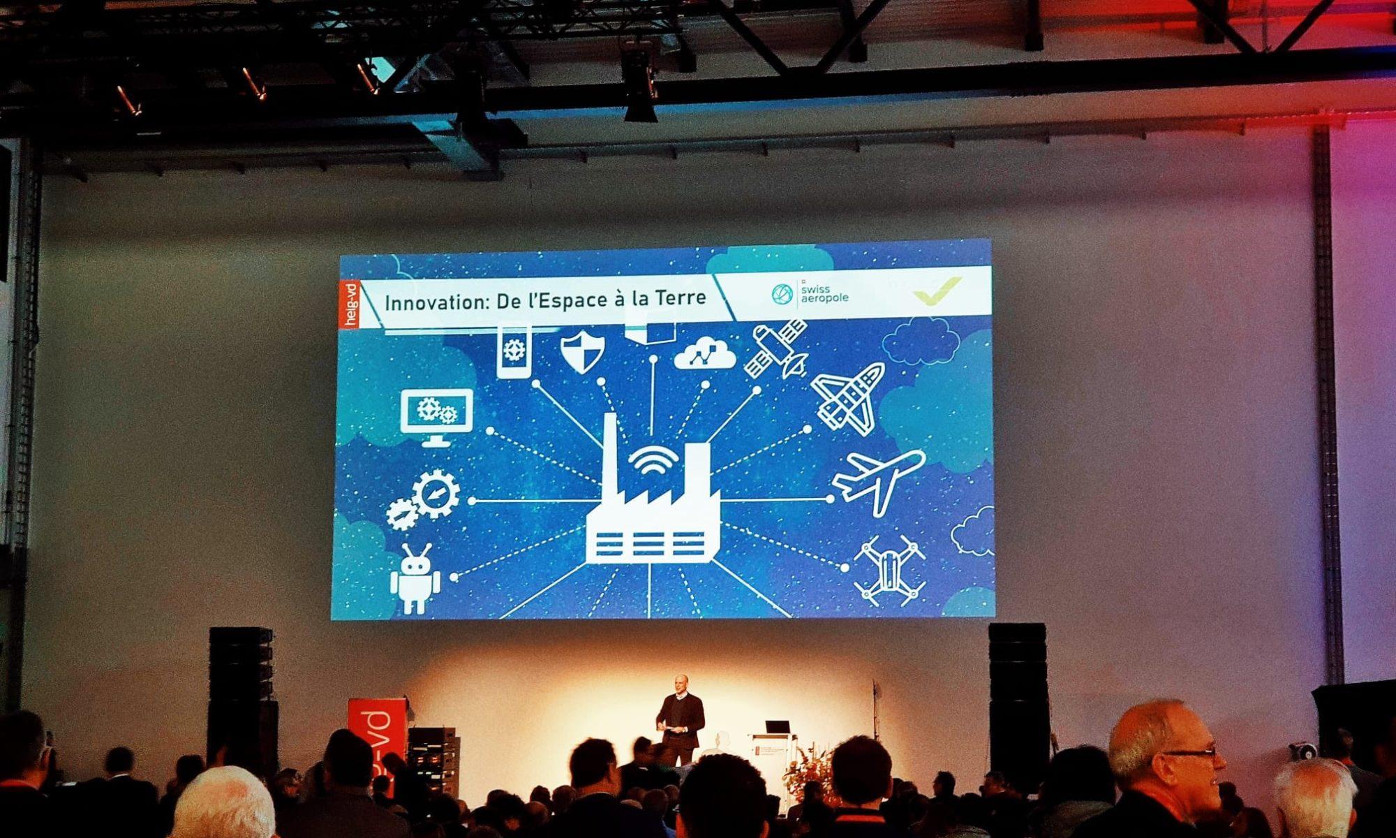 HEIG-VD event: Innovation, UAM